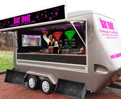 Luxury mobile cocktail bar hire in the north east of England